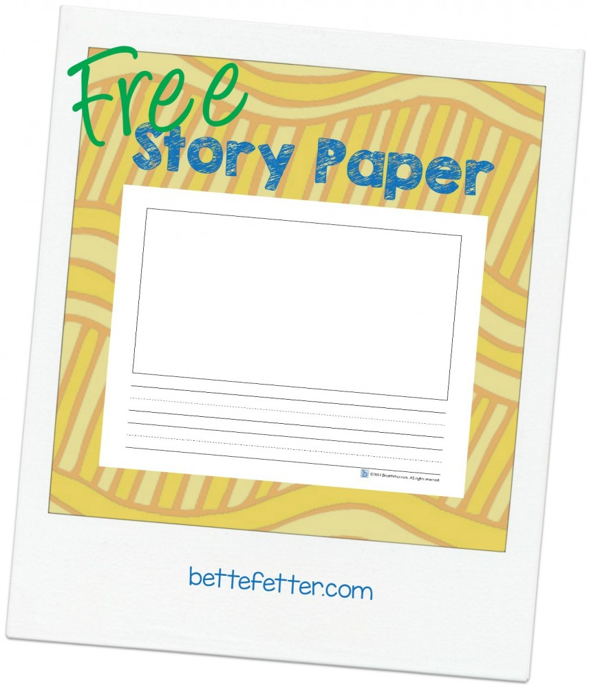 STOP Summer Brain Drain with Story Paper